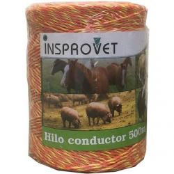 Insprovet Hilo Conductor Pastor 500 m/11 Ohm/m