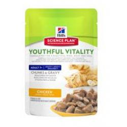 Hill's Science Plan Feline Adult 7+ Youthful Vitality Chicken Pouch 85g