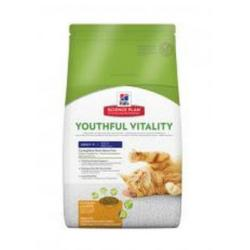 Hill's Science Plan Gato Youthful Vitality Adult 7+ 1,5kg