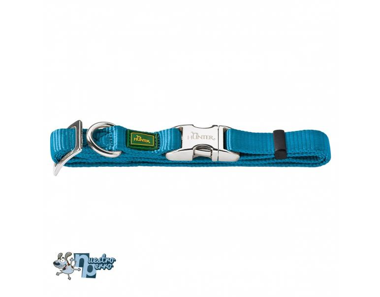 Hunter collar nylon l turquesa