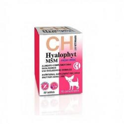 Chemical Iberica Hyalophyt MSM Complemento para Perros Razas Mini 90uds