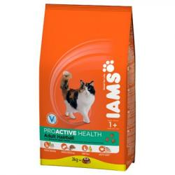 Iams Adult Hairball con Pollo 10 kg