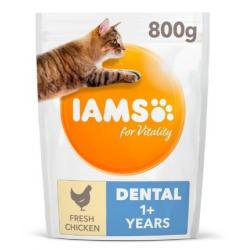Iams Cat Adult Dental Alimento para Gatos 800g