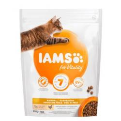 Iams Cat Adult Hairball Alimento para Gatos 800g