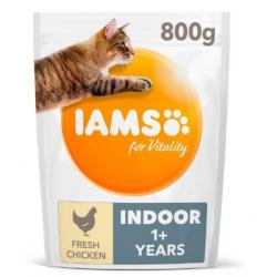 Iams Cat Adult Indoor Alimento para Gatos 800g