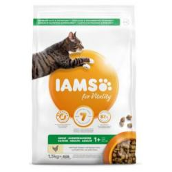 Iams Cat Adulto Pollo Alimento para Gatos 1,5kg