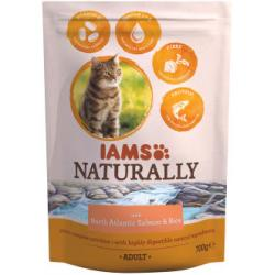 IAMS Naturally Adult Cat Atlantic Salmón & Arroz 700g