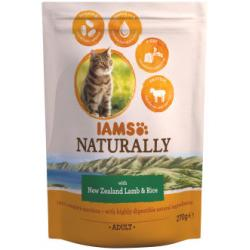 Iams Naturally Cat with New Zealand Lamb & Rice 270g