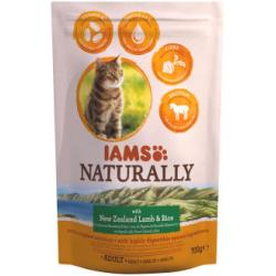 Iams Naturally Cat with New Zealand Lamb & Rice 700g