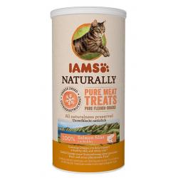 Iams Naturally Freeze Dried Salmon Gato