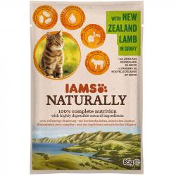 IAMS Cat Naturally Adult Cordero Pouch 85 g
