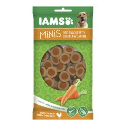 IAMS Perros Mini Snacks Pollo/Zanahoria 100 g