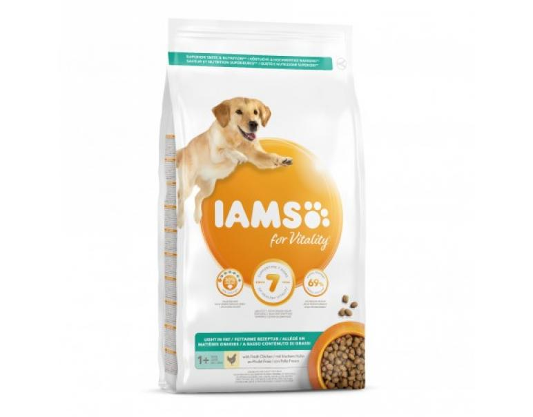 PACK AHORRO Iams ProActive Health Light in Fat for Sterilised/Overweight Pienso para Perros 2x12kg