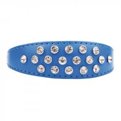 Ibañez Collar Exclusive Crystal Color Azul 25cm