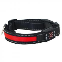 Ibañez Collar Led Locator Rojo M 2,5 x 40-50 cm