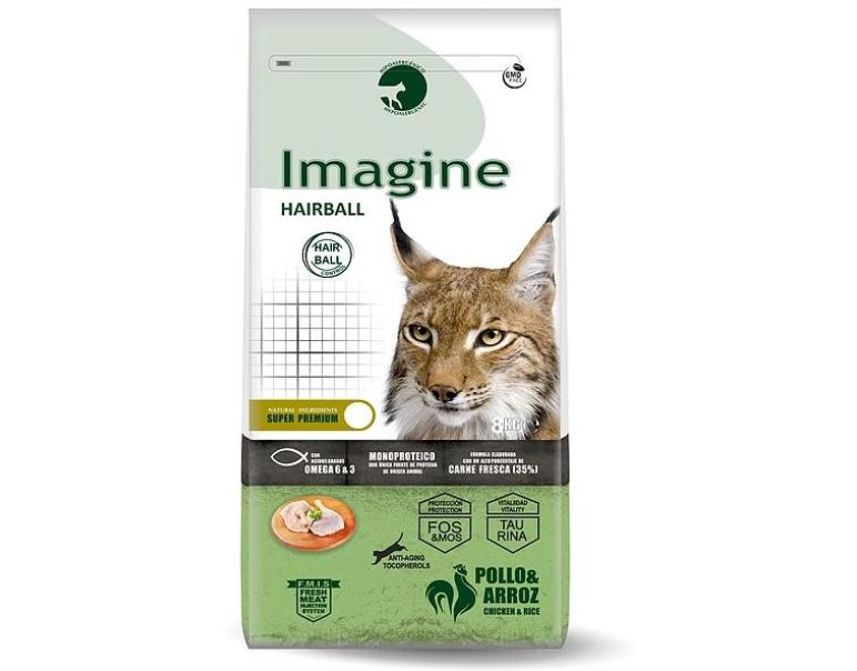 Imagine Cat HAIRBALL 8 KG.