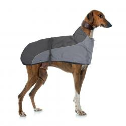 Biozoo Impermeable Galgo T-70 Negro/Gris