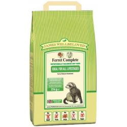 James Wellbeloved Ferret Complete para Hurones 2kg