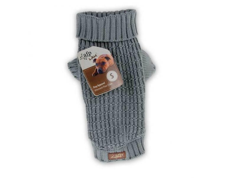 AFP Jersey para Perros Classic Weave Gris S