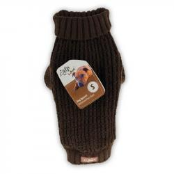 AFP Jersey para Perros Classic Weave Marrón XS