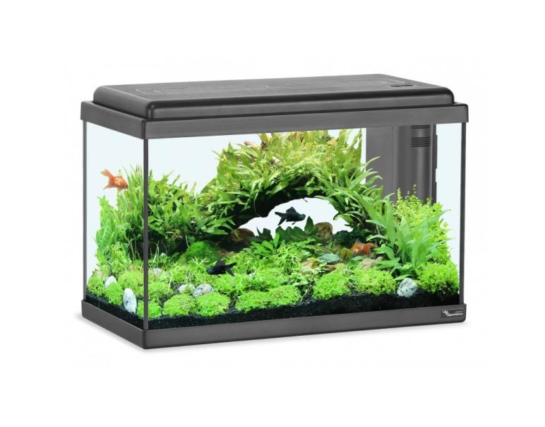 Aquatlantis Kit Acuario Advance Led Negro 40 L