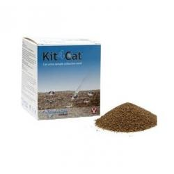 Kit4Cat Arena Natural Para Toma De Muestra Gatos 3 Uds