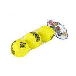 Kong Air Dog Squeaker Tennis Ball 3uds Bag XS