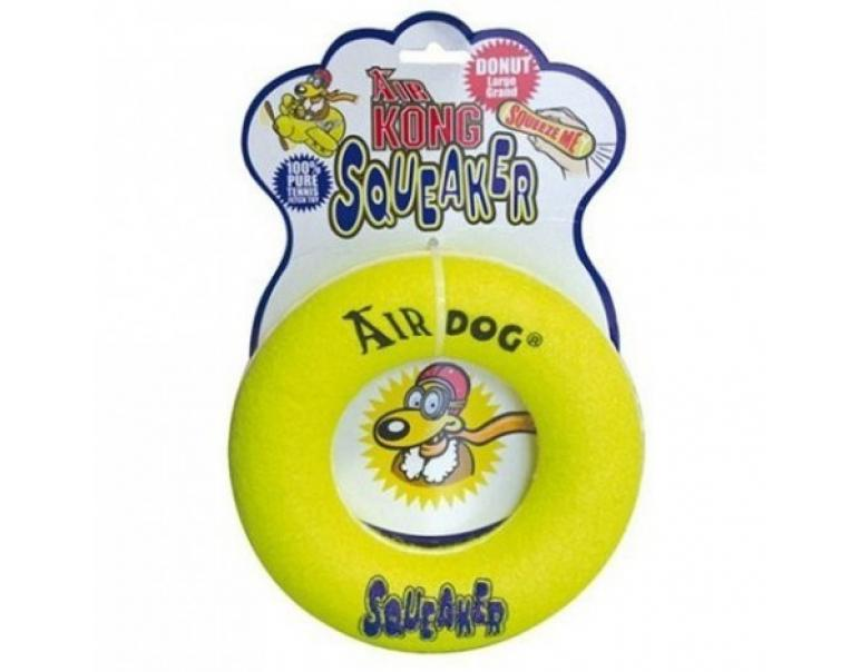 Kong Air Squeaker Donut Medium