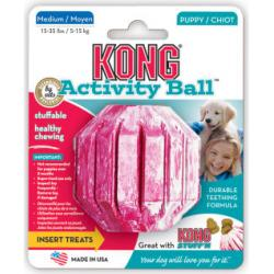 Kong Puppy Activity Ball Juguete para perros Tamaño Mediano