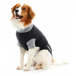 Kruuse Buster Body Suit For Dogs Black/Grey 70 cm