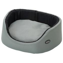 Kruuse Buster Oval Cama Mucica Marco Tamaño Mediano Gris