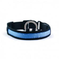 Collar Led Azul M