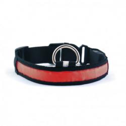 Collar Led Rojo M