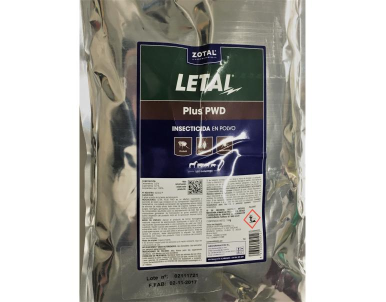 Zotal Letal Plus Insecticida Microgránulo 1 kg