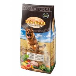 Life Field Adulto Grande Pollo 12kg
