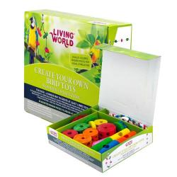 Living World Kit Juguetes Loro Creativo 40 pcs