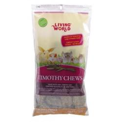 Living World Timothy Chews Suplemento Nutritivo Roedores 454g