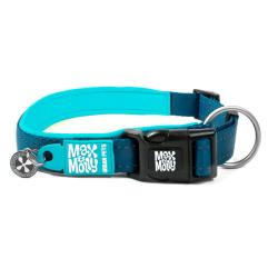 M&M COLLAR MATRIX L 2.5x39-62cm. Azul Celeste