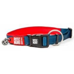 M&M Collar Matrix Rojo M 2x34-55cm