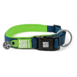 M&M COLLAR MATRIX S 1,5x28-45 cm. Verde Lima