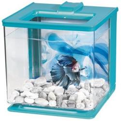 Marina Acuario Betta Ez Care Color Azul 2.5L