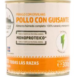 Mascot Nature Adulto Pollo y Guisante 300g