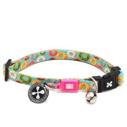 Max & Molly Collar para Gatos Cebra Donuts