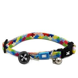 Max & Molly Collar para Gatos Puzzle