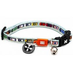 Max & Molly Collar para Gatos Modelo Traffic Jam