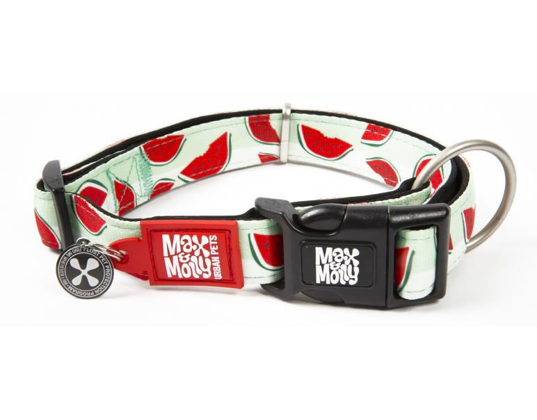 Max&Molly Collar para Perros Watermelon L