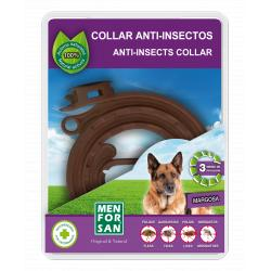 Menforsan Collar Natural Repelente Insectos Perros 60cm