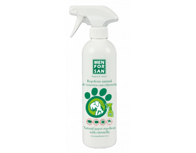 Menforsan Repelente Natural de Insectos con Citronela 500ml