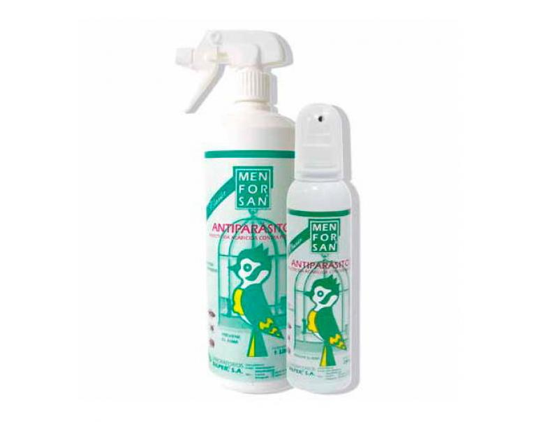 MENFORSAN spray antiparasitario perfumado para aves 250 ml
