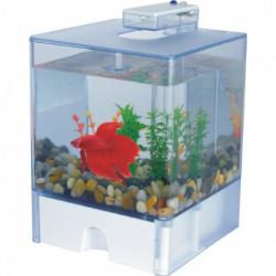 Mini Acuario Acrilico LED Betta 1.5 L